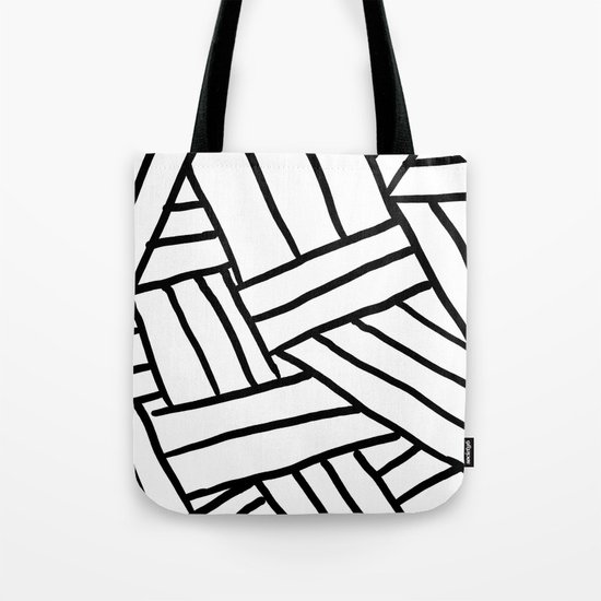 Raw Pattern Series: n.1 Tote Bag