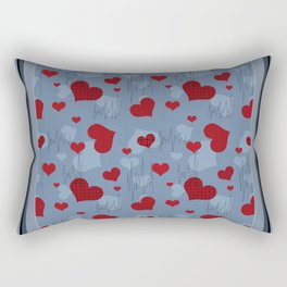 Heart . Rectangular Pillow