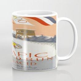Vintage poster - Lake Placid Coffee Mug