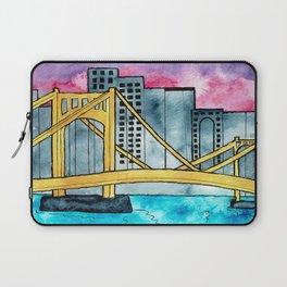 Pittsburgh Bridge Laptop Sleeve