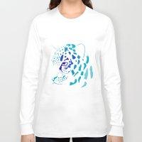 jaguar Long Sleeve T-shirts featuring Jaguar by Icela perez bravo