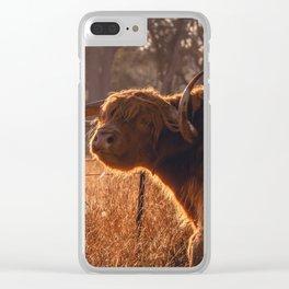 Big Moo Clear iPhone Case