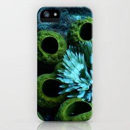 la vie sous-marine iPhone Case