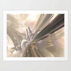 Heaven Forest (3D Fractal Digital Art) Art Print