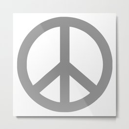 Fun Peace Friede Metal Print