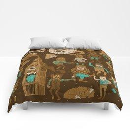 Wow! Werewolves!  Comforters