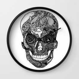 Death of the Oceans Wall Clock