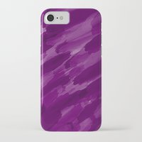 the strokes iPhone & iPod Cases featuring Purple Strokes by UMe Images