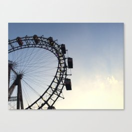 Vienna Ferris Wheel (Wiener Riesenrad) Canvas Print