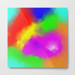 Colourful Emotions / Colorful Emotions Metal Print