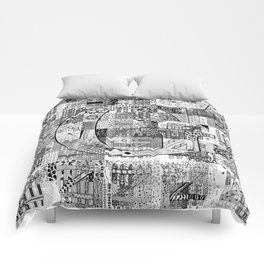The Letter G Comforters