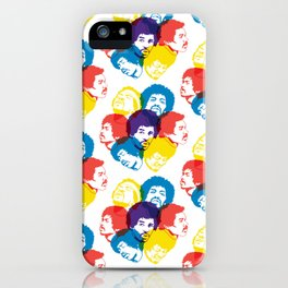 Hendrix Pattern iPhone Case