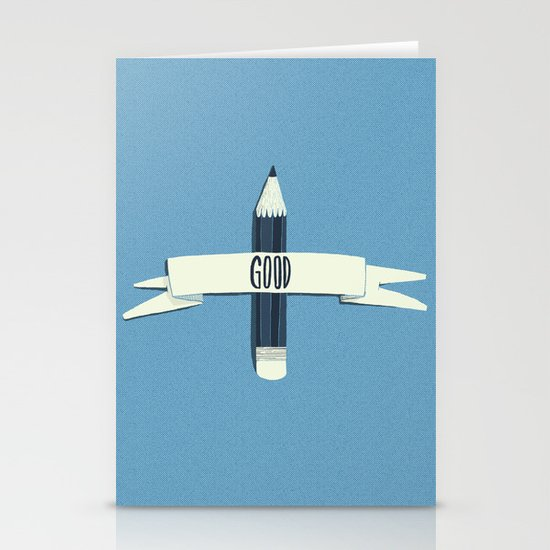 Lucky pencil Stationery Cards