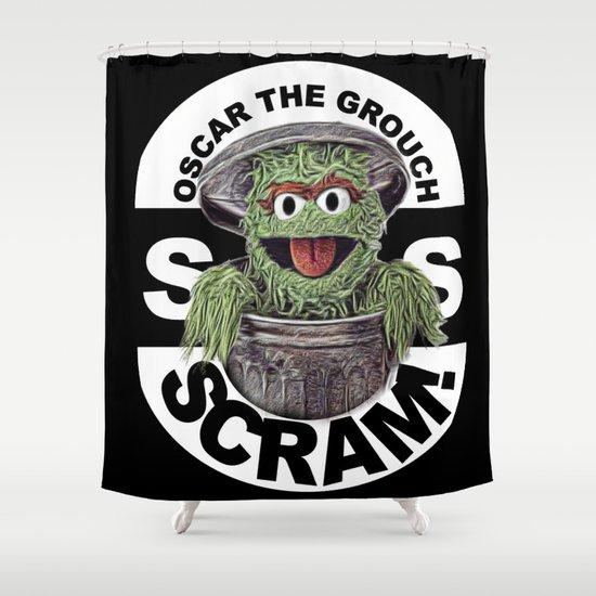Scram! Shower Curtain