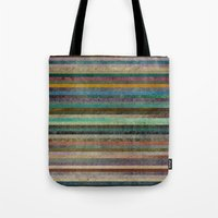 striped Tote Bags featuring Striped by Sharon Johnstone