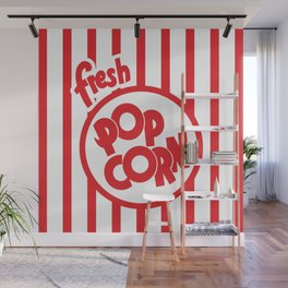 Fresh Popcorn Wall Mural