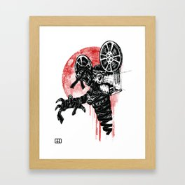 A Film By The Mummy Framed Art Print