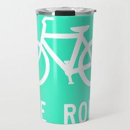 Bike Route Travel Mug