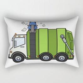 Recycle Truck Rectangular Pillow