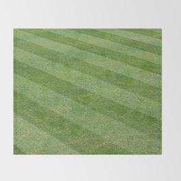 Play Ball! - Freshly Cut Grass Throw Blanket