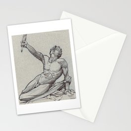 Marathon Soldier, Louvre Stationery Cards
