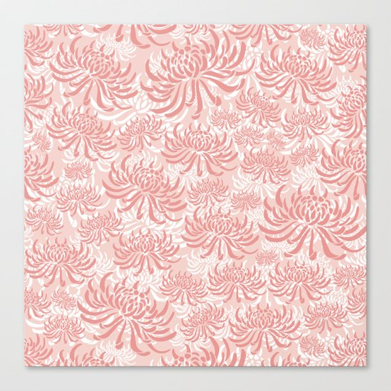 Go Orient Chrysanthemum Canvas Print
