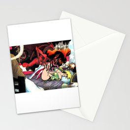 the Sleepy Sins of Suzy Spreadwell no. 3: A Wanton Lust for Burning Angels Stationery Cards