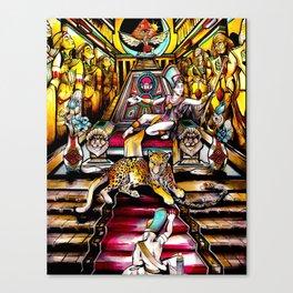 The Tomb  Canvas Print