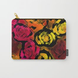 Abstract Roses by FreddiJr Carry-All Pouch