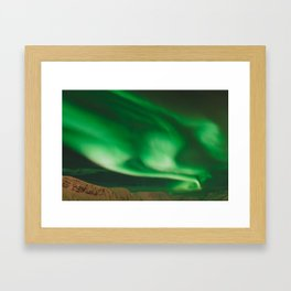 Northern Lights in Norway Framed Art Print