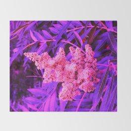 Pink and Blue Sideways Sumac Throw Blanket