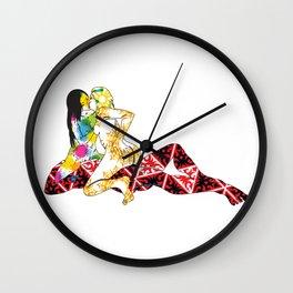 Three Ways - FFM 1 Color 1 Wall Clock