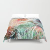 wizard Duvet Covers featuring Wizard by gui.