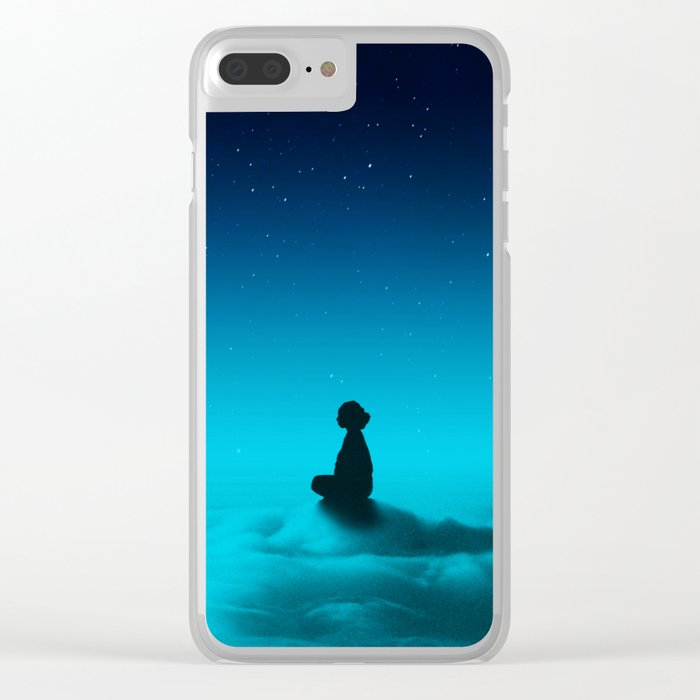 Cloud Rider Star Series Clear iPhone Case