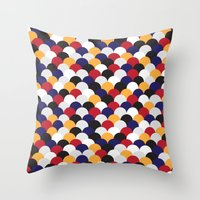 scales Throw Pillows featuring Scales by Daisho