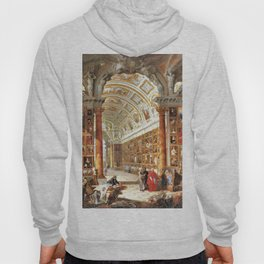 Giovanni Paolo Pannini Masterpiece Interior of a Picture Gallery with the Collection of theCardinal Hoody