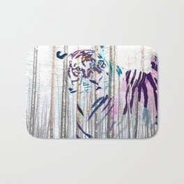 Protected forest Bath Mat