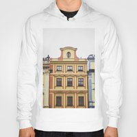 prague Hoodies featuring Prague   by Kameron Elisabeth