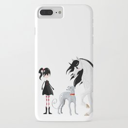 Dreamer and her Companions iPhone Case