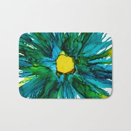 Blue Beauty Bath Mat