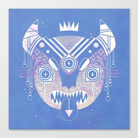 Sky Demon Canvas Print