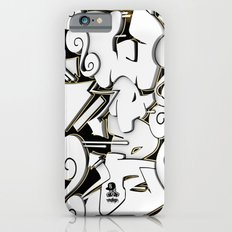 3D GRAFFITI - NOPE iPhone 6s Slim Case