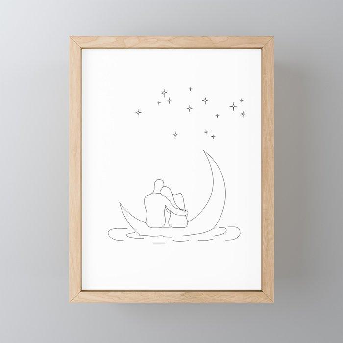 Honeymoon Framed Mini Art Print