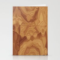 chocolate Stationery Cards featuring Chocolate by Kimberly McGuiness