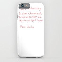 Marcus Aurelius Quote iPhone Case