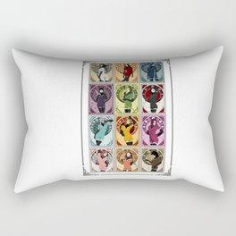 Heroines (Nouveau) Rectangular Pillow