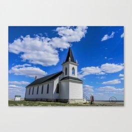 Trinity Church, Sweetgrass Hills, MT Canvas Print