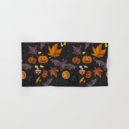 October pattern Hand & Bath Towel