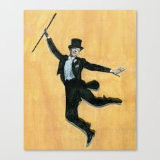 top hat and tails Canvas Print