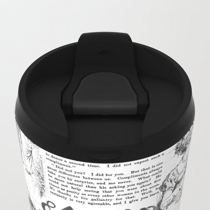 Pride and Prejudice - Pages Metal Travel Mug